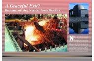 A Graceful Exit? Decommissioning Nuclear Power Reactors