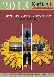 letošnjem zborniku - Škofija Novo mesto