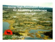Using High-Resolution Airphotos for Assessing Landscape - INSTAAR