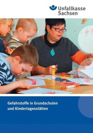 Gefahrstoffe in Grundschulen und  Kindertagesstätten (BG_GUV_SI ...
