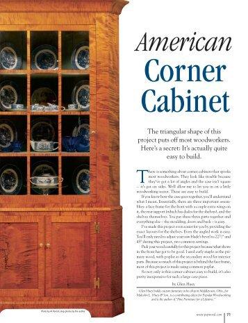 American Corner Cupboard