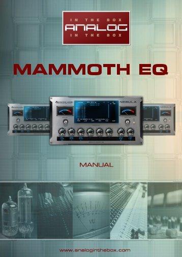 Mammoth EQ Manual - Analog In The Box