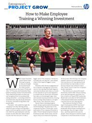 How to Make Employee Training a Winning Investment