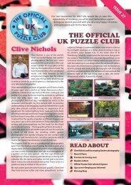 Clive Nichols - Jigsaw Puzzles