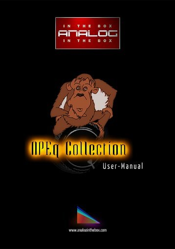 APEq Collection Manual - Analog In The Box