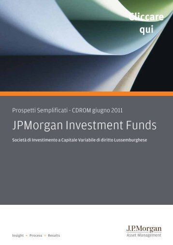 JPMorgan Investment Funds - Fundstore