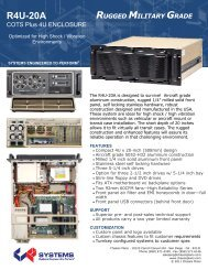R4U-20A Datasheet - Chassis Plans