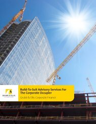 Build-To-Suit Advisory Services For The Corporate ... - Grubb & Ellis