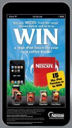 a 16gb iPod Touch for your next coffee break! - Warehouse Stationery