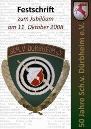 Festschrift - Schützenverein Dürbheim
