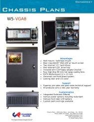 W5-VGA8 Datasheet - Chassis Plans