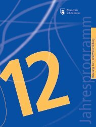Jahresprogramm 2012 - Schoenbrunn.de
