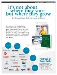 Partners on Every Path - Entrepreneur.com