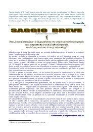 Saggio breve - scuola media statale Mendola-Vaccaro