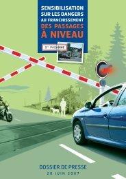 Passages à niveau préoccupants en pays de la Loire - RFF