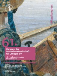 Pflegekongress-Programm zum Download - Urologenportal
