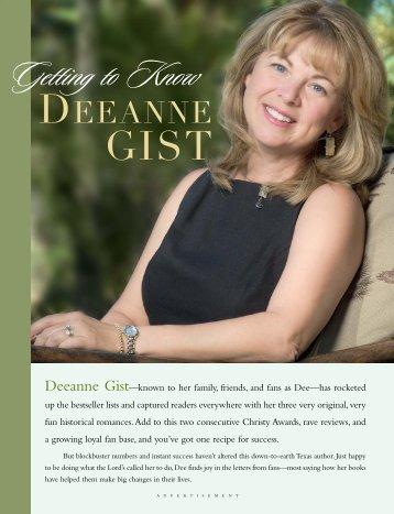 Christian Retailing - Deeanne Gist