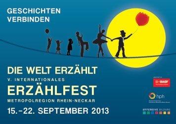 Erzählfest Programm (pdf, 3.3 MB) - Ludwigshafen