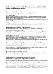 Forhandlingsprotokol (referat) (PDF) - Århus Ungdommens Fællesråd