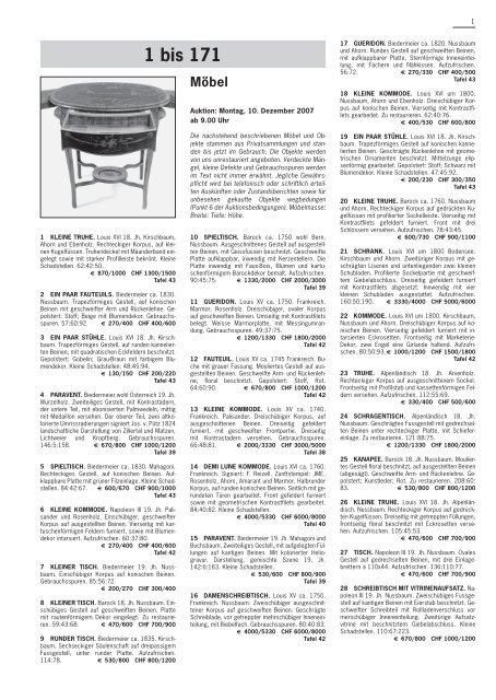 1121 bis 1188 Jugendstil/ Art Déco/ Design - Schuler Auktionen