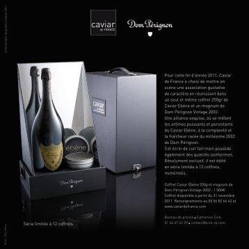 Caviar de France Fêtes2011 - Vinomedia