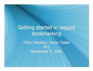 Getting started in tagged bookmarking Getting started in tagged ...