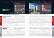 RUSSIAN REAL ESTATE MARKET OVERVIEW - PROEstate