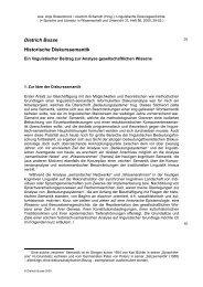 Dietrich Busse Historische Diskurssemantik
