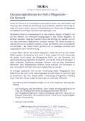Fixierung und Alternative- die NOFIX Pflegedecke ... - Seniorentextil - Seite 2