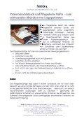 Fixierung und Alternative- die NOFIX Pflegedecke ... - Seniorentextil - Seite 5