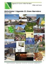 Aktiviteter i Agenda 21 Grøn Nørrebro februar 2008