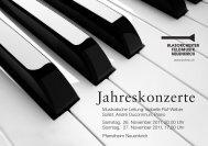 Jahreskonzerte - Luzerner Kantonal-Blasmusikverband