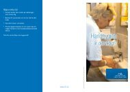 Handhygien är det viktigt? - NLLplus.se, Norrbottens Läns Landsting