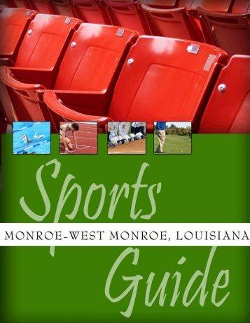 Planning Guide (PDF) - Monroe-West Monroe, Louisiana