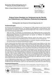 Patientenrechtegesetz - Netzwerk - Pflege und Versorgungsforschung