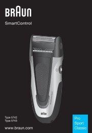www.braun.com SmartControl