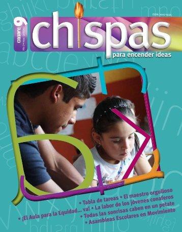 Revista: Chispas No.9 - conafe.edu.mx