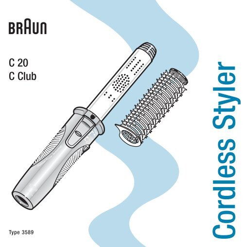 Cordless Styler - Braun Consumer Service spare parts use ...