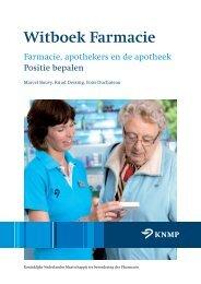 Witboek Farmacie - Knmp
