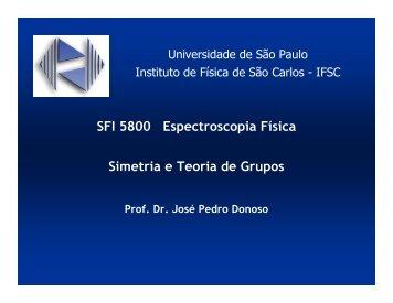 Elementos de simetria - IFSC