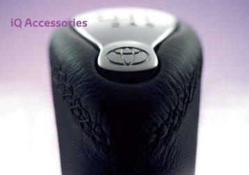 iQ Accessories - Toyota