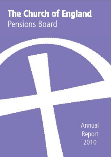 CEPB Annual Report 2010 - Church of England