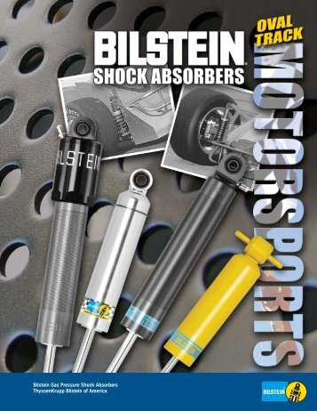 Motorsports - Bilstein, Innovation and High Quality Since 1873