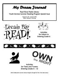 2012 Summer Reading Club - Pearl River Public Library