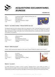 DEC 2012_Documentaires Jeunesse Ados.pdf - TERVILLE