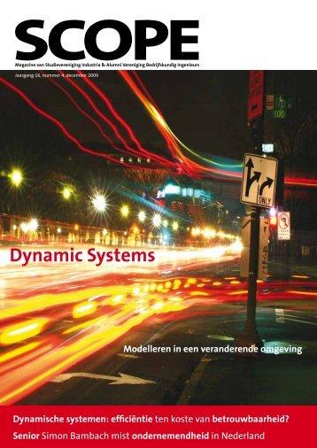 Dynamic Systems Dynamische systemen - VBI