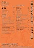download menu - Newmarket Hotel - Page 2
