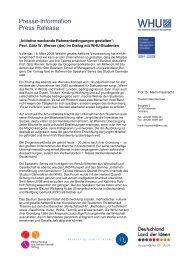 Presse-Information Press Release - Herbert-Quandt-Stiftung