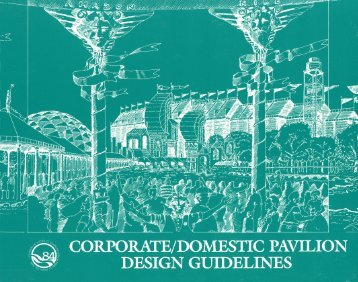 Corporate/Domestic Pavilions Design Guidelines - WorldsFairPhotos