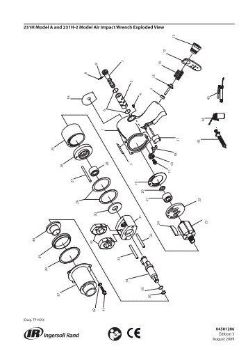 Parts Information Manual, Air Percussive Rivet Buster